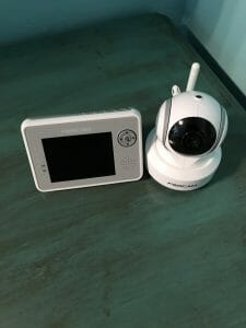 video baby monitor location