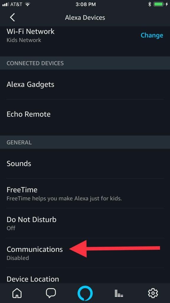 Amazon Echo baby monitor