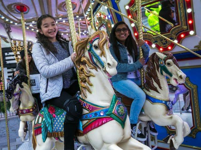 westlake holiday carousel