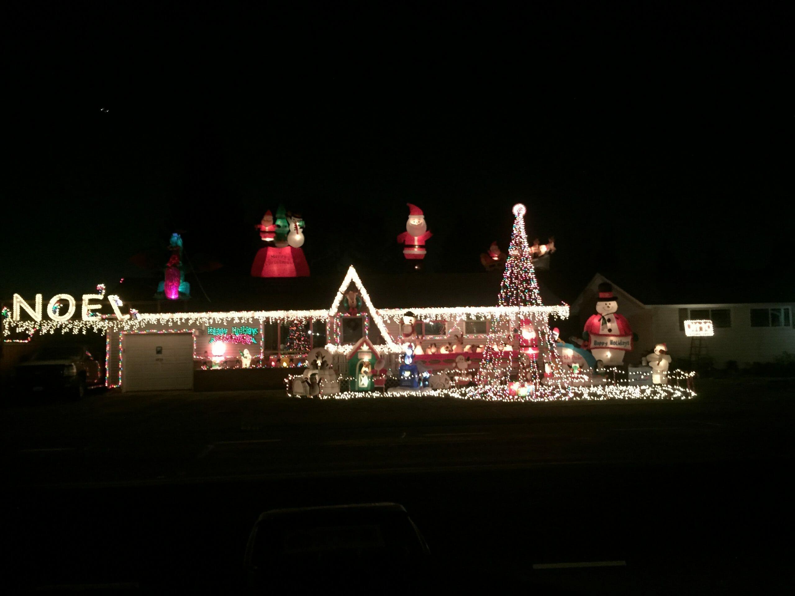 seattle holiday light displays