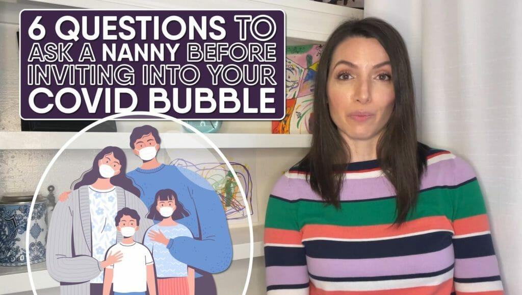 nanny covid bubble