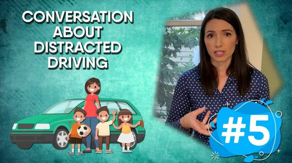 nanny driving kids